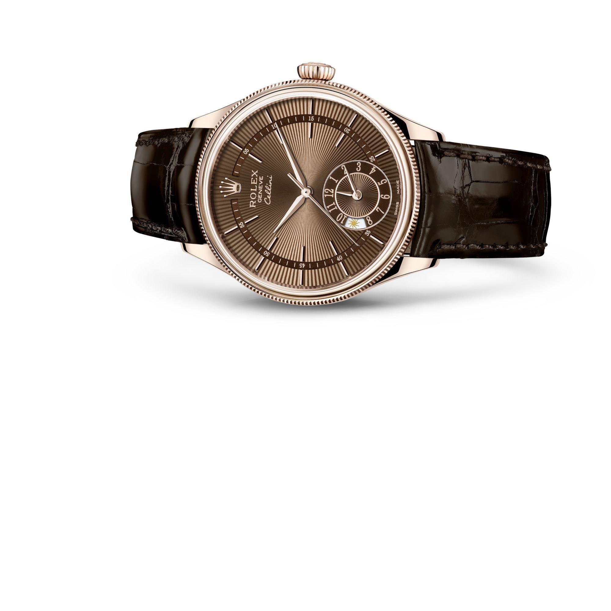 Rolex Cellini Dual Time M50525-0015