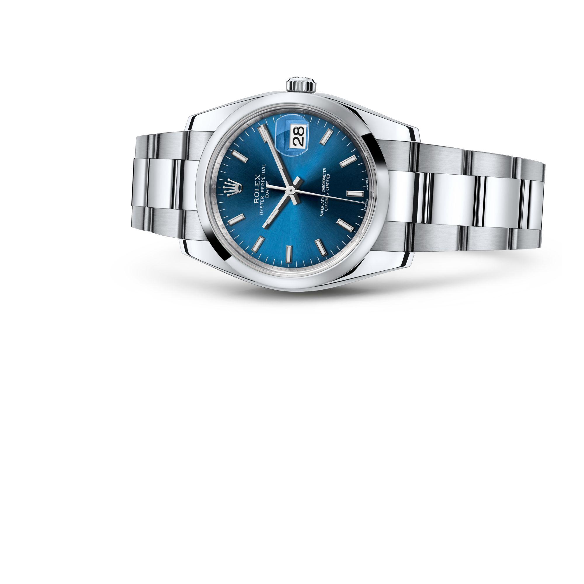 Rolex Date 34 M115200-0007