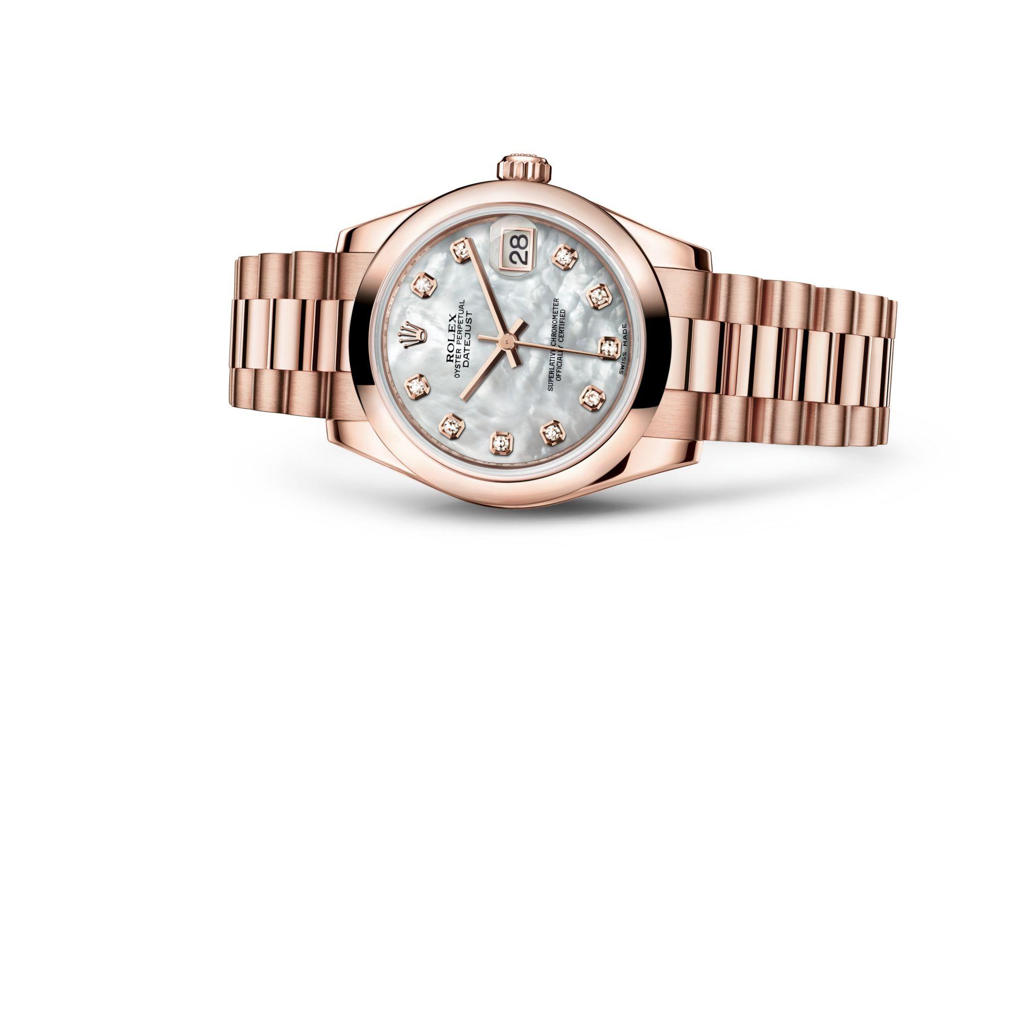 Rolex デイトジャスト 31 M178245F-0026
