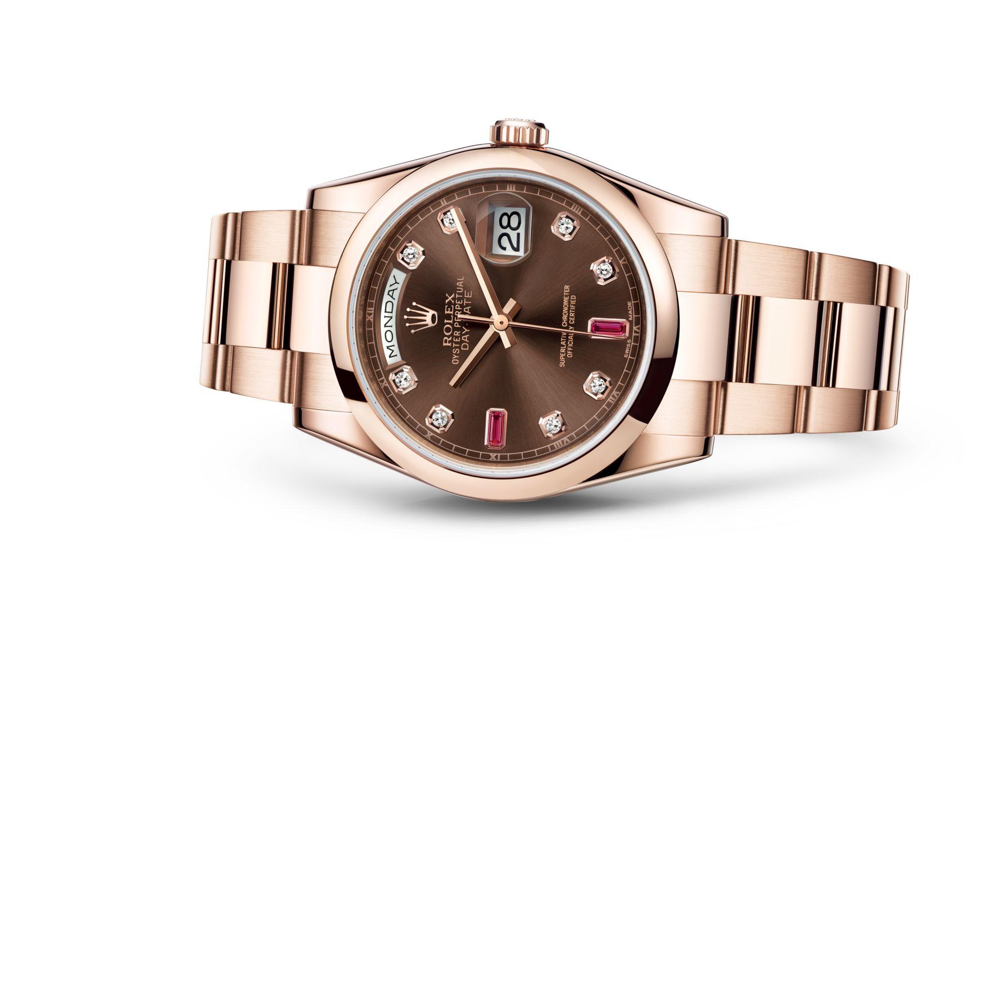 Rolex Day-Date 36 M118205F-0107