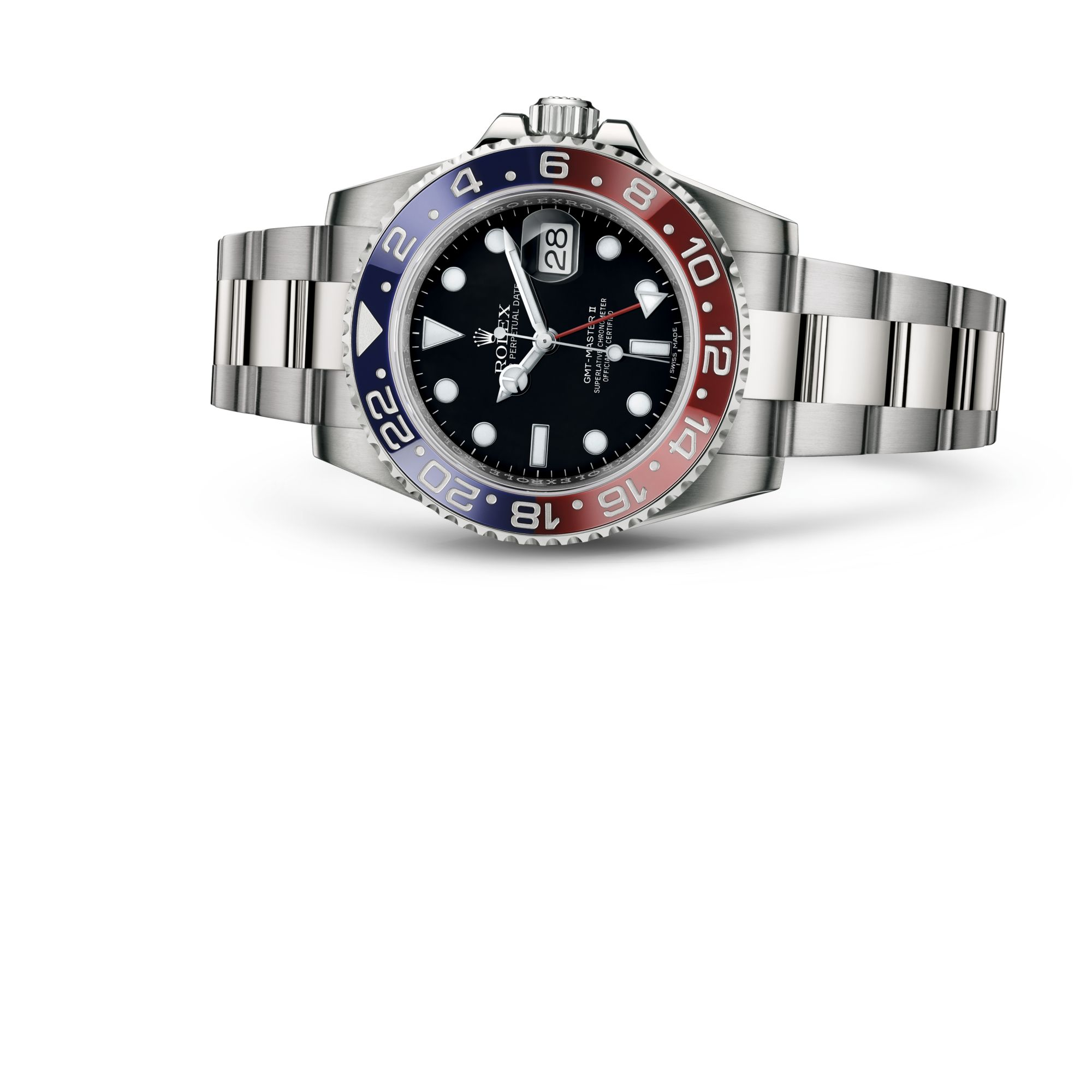 Rolex جي ام تي ماستر II M116719BLRO-0001