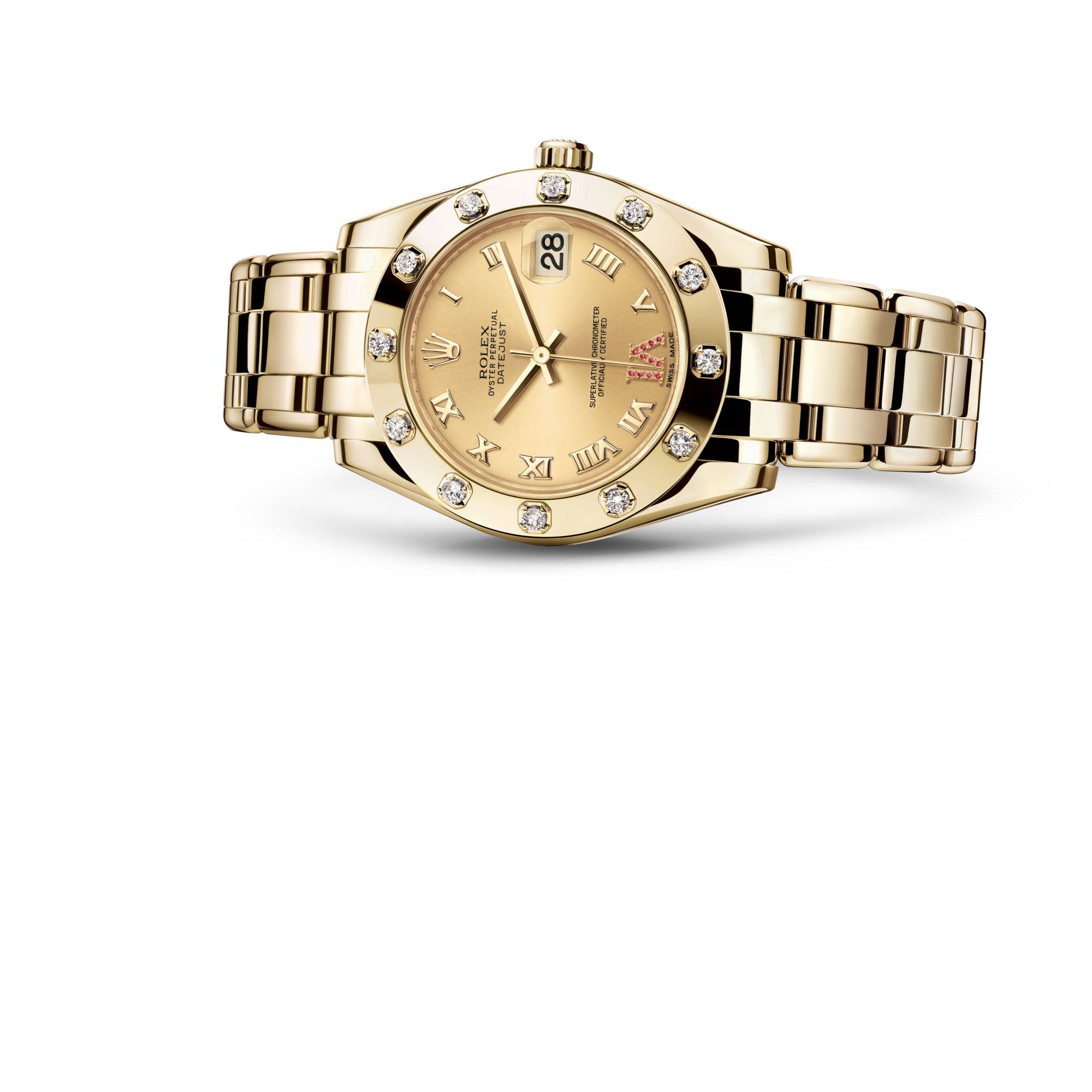Rolex Pearlmaster 34 M81318-0040