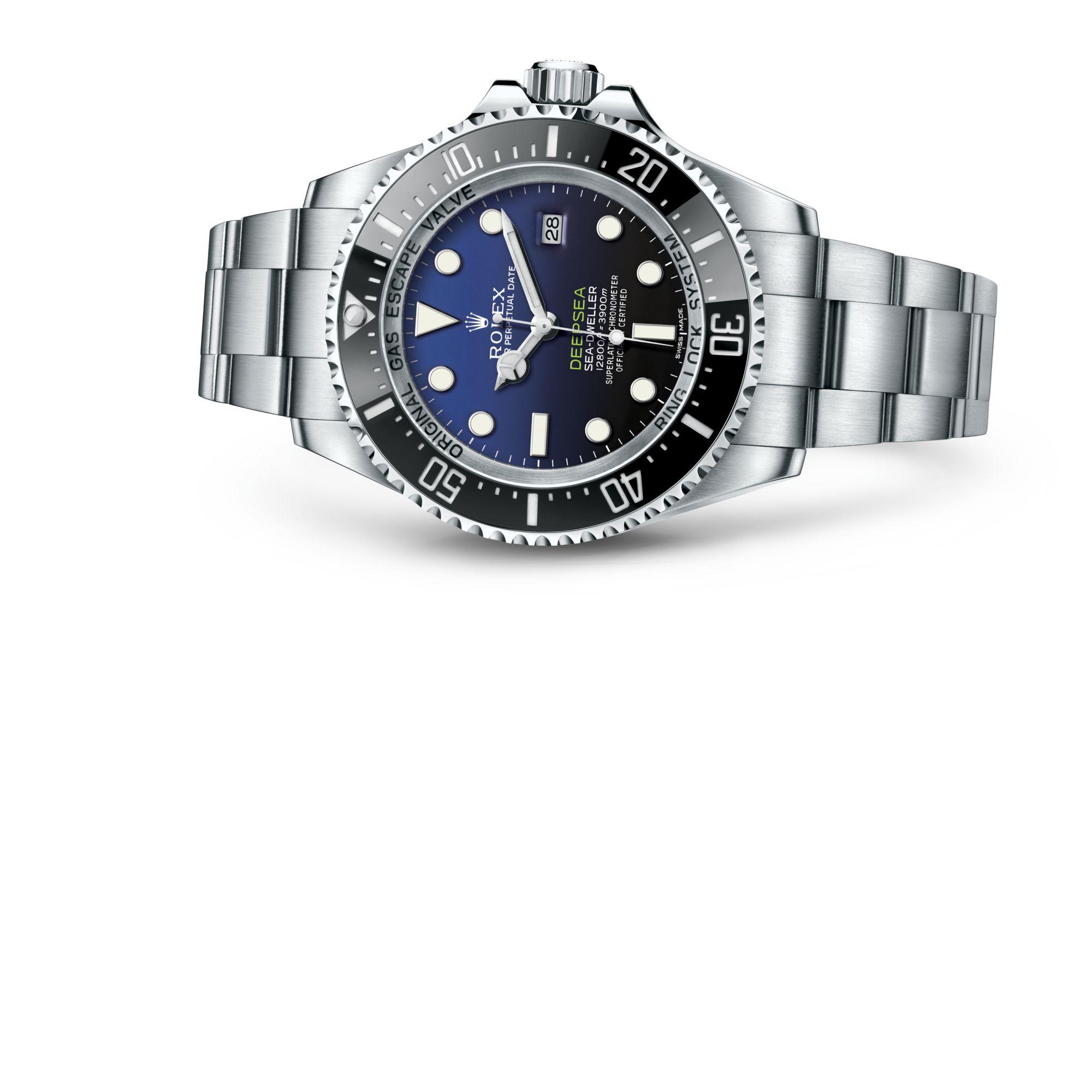 Rolex Rolex Deepsea met D‑bluewijzerplaat M116660-0003