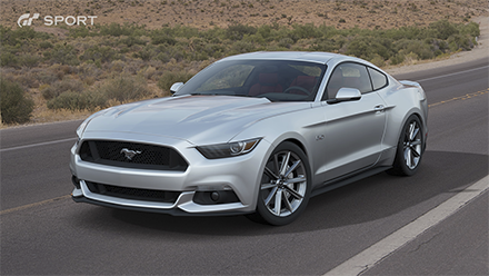 Ford Mustang GT Premium Fastback '15 فيgran turismo sport