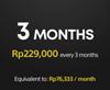 3 months PS Plus subscription